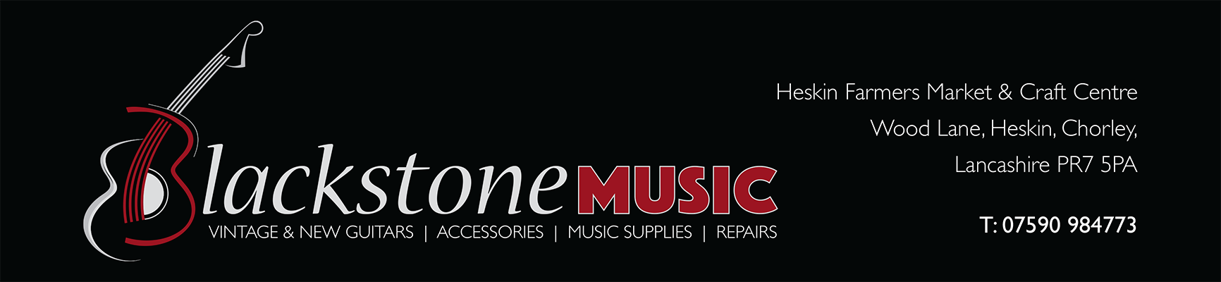 Blackstone Music | Guitars, Electric Guitars and other Guitars needs!